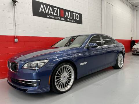 2014 BMW 7 Series for sale at AVAZI AUTO GROUP LLC in Gaithersburg MD
