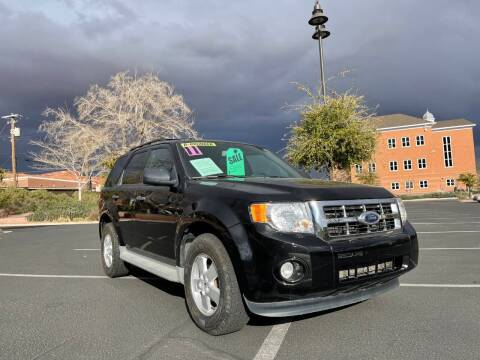 2011 Ford Escape for sale at GALLIAN DISCOUNT AUTO in St George UT