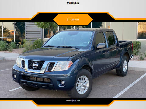 2018 Nissan Frontier for sale at AZ Auto Gallery in Mesa AZ