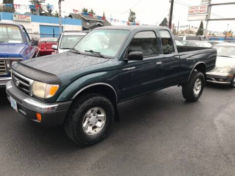 1998 Toyota Tacoma for sale at Chuck Wise Motors in Portland OR