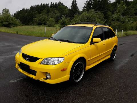 2002 Mazda Protege5 for sale at State Street Auto Sales in Centralia WA