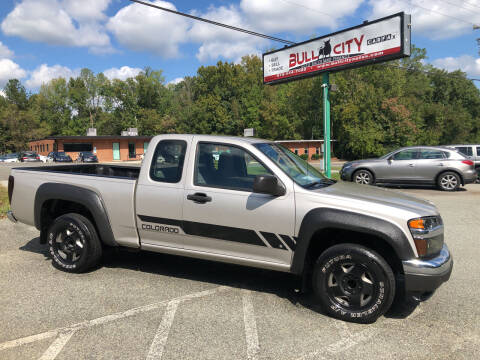 2007 Chevrolet Colorado for sale at Bull City Auto Sales and Finance in Durham NC