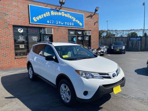 2014 Toyota RAV4 for sale at Everett Auto Gallery in Everett MA