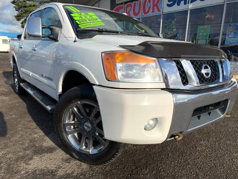 2011 Nissan Titan for sale at Xtreme Truck Sales in Woodburn OR