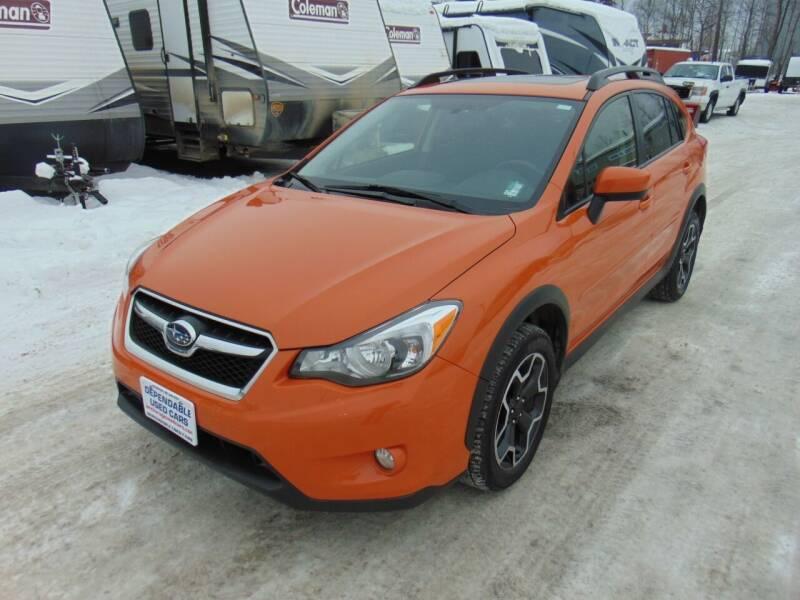 2015 Subaru XV Crosstrek for sale at Dependable Used Cars in Anchorage AK