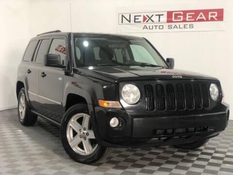 2010 Jeep Patriot for sale at Next Gear Auto Sales in Westfield IN
