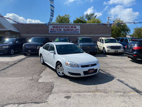 2011 Chevrolet Impala for sale at Brothers Auto Group in Youngstown OH