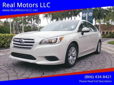 2015 Subaru Legacy for sale at Real Motors LLC in Clearwater FL