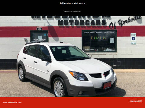 2004 Pontiac Vibe for sale at Millennium Motorcars in Yorkville IL