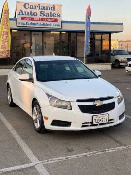 2012 Chevrolet Cruze for sale at Carland Auto Sales in Sacramento CA