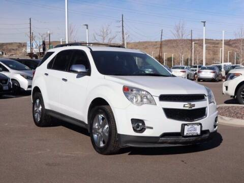 2014 Chevrolet Equinox for sale at EMPIRE LAKEWOOD NISSAN in Lakewood CO