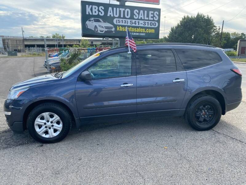 2014 Chevrolet Traverse for sale at KBS Auto Sales in Cincinnati OH