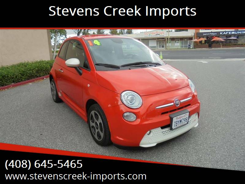 2014 FIAT 500e for sale at Stevens Creek Imports in San Jose CA