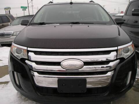 2013 Ford Edge for sale at ZJ's Custom Auto Inc. in Roseville MI