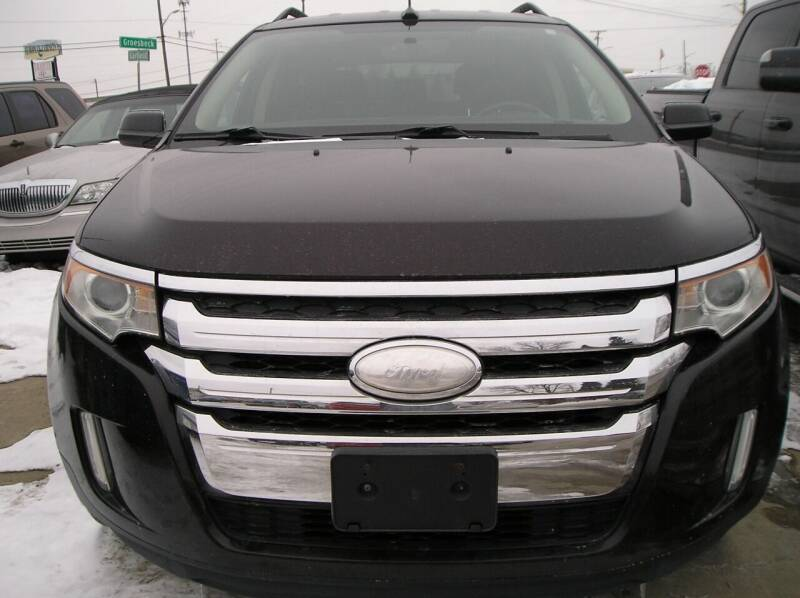 2013 Ford Edge for sale at ZJ's Custom Auto Inc. in Roseville MI