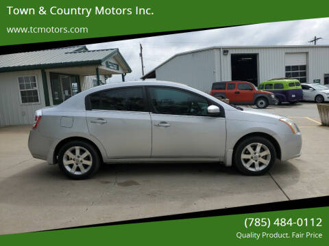 2008 Nissan Sentra for sale at Town & Country Motors Inc. in Meriden KS
