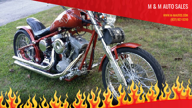 2007 Harley-Davidson Custom for sale at M & M Auto Sales in Hillsboro OH