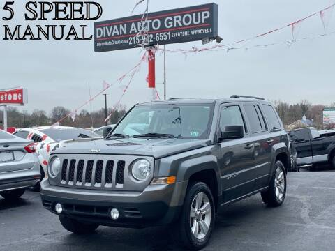 2012 Jeep Patriot for sale at Divan Auto Group in Feasterville PA