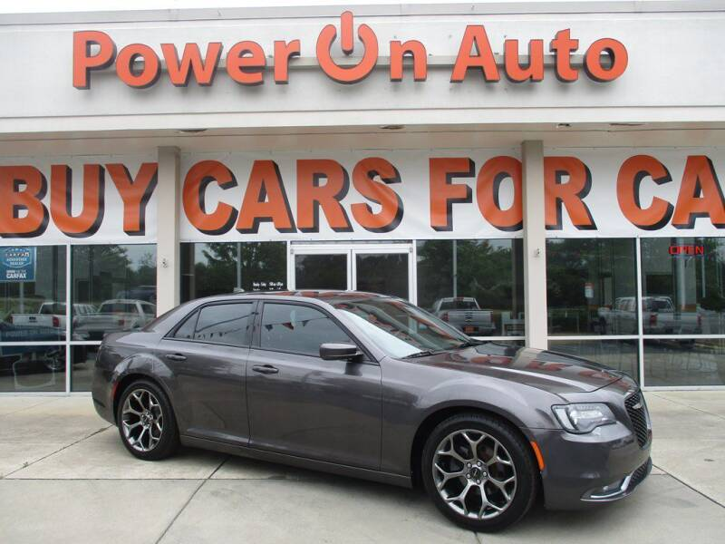 2015 Chrysler 300 for sale at Power On Auto LLC in Monroe NC