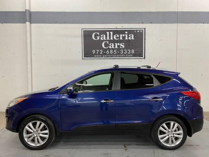2013 Hyundai Tucson for sale at Galleria Cars in Dallas TX