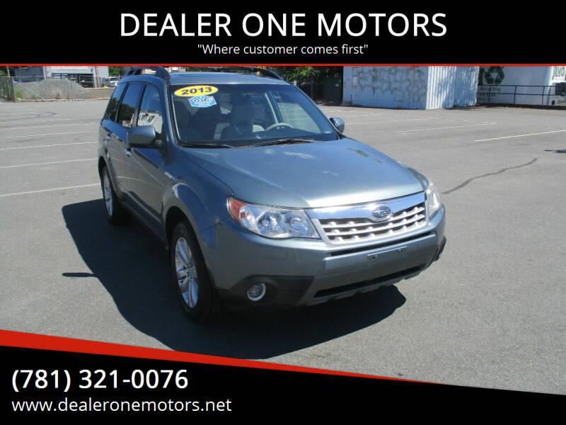 2013 Subaru Forester for sale in Malden, MA