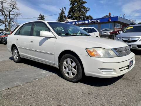 2001 Toyota Avalon for sale at All American Motors in Tacoma WA