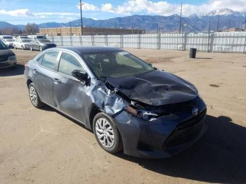 2017 Toyota Corolla for sale at STS Automotive in Denver CO