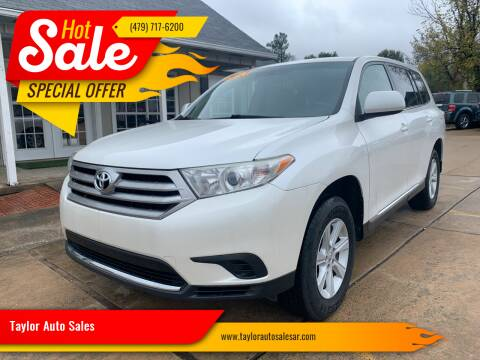 2013 Toyota Highlander for sale at Taylor Auto Sales in Springdale AR