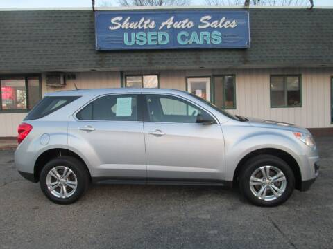 2010 Chevrolet Equinox for sale at SHULTS AUTO SALES INC. in Crystal Lake IL