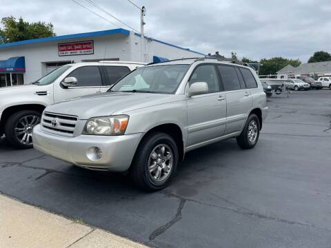 2004 Toyota Highlander for sale at Deluxe Auto Sales Inc in Ludlow MA