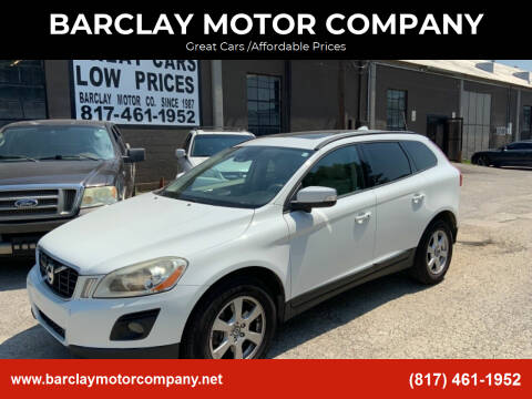 2010 Volvo XC60 for sale at BARCLAY MOTOR COMPANY in Arlington TX