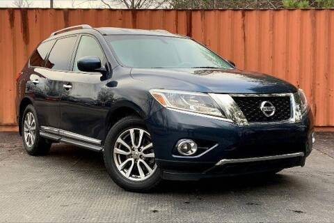 2015 Nissan Pathfinder for sale at CU Carfinders in Norcross GA