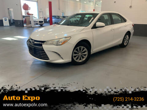 2015 Toyota Camry for sale at Auto Expo in Las Vegas NV