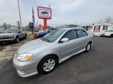 2003 Toyota Corolla for sale at Ford's Auto Sales in Kingsport TN