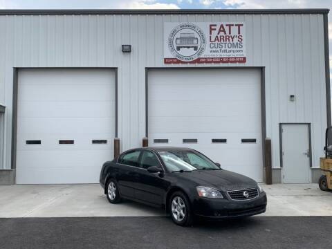 2006 Nissan Altima for sale at Fatt Larry's Customs in Sugar City ID