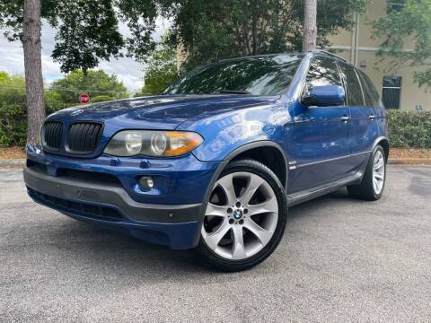 2006 BMW X5 for sale at CARPORT SALES AND  LEASING in Oviedo FL