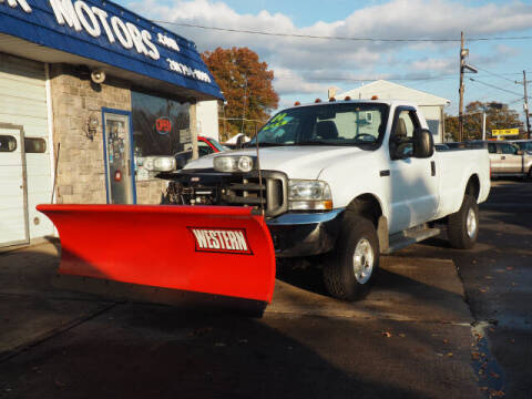 2004 Ford F-350 Super Duty for sale at Scheuer Motor Sales INC in Elmwood Park NJ