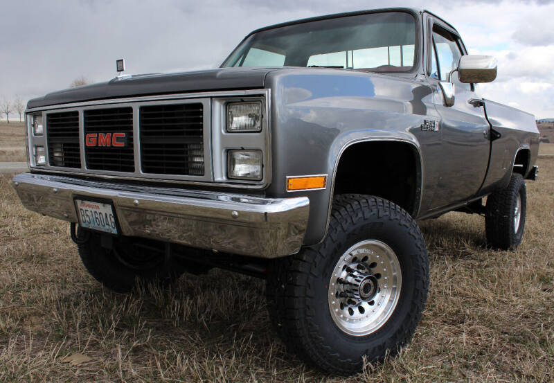 1987 GMC R/V 2500 Series for sale at J.K. Thomas Motor Cars in Spokane Valley WA