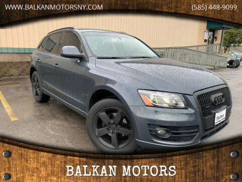 2010 Audi Q5 for sale at BALKAN MOTORS in East Rochester NY