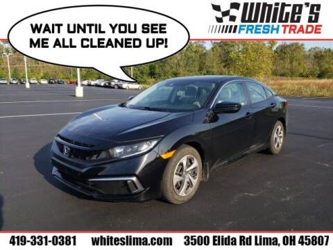 2019 Honda Civic for sale at White's Honda Toyota of Lima in Lima OH