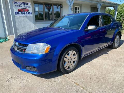 2014 Dodge Avenger for sale at Brewer's Auto Sales in Greenwood MO