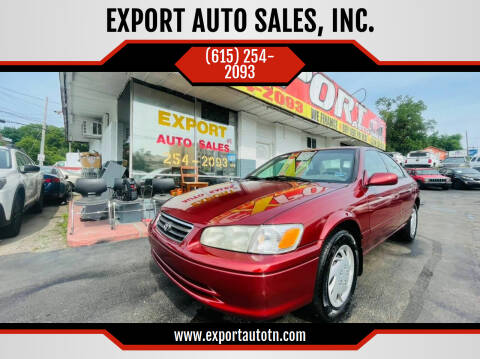 2001 Toyota Camry for sale at EXPORT AUTO SALES, INC. in Nashville TN