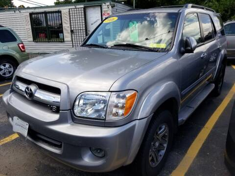 2006 Toyota Sequoia for sale at Howe's Auto Sales in Lowell MA
