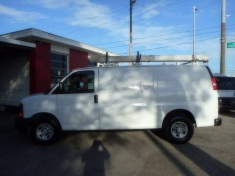 2017 Chevrolet Express Cargo for sale at Florida Suncoast Auto Brokers in Palm Harbor FL