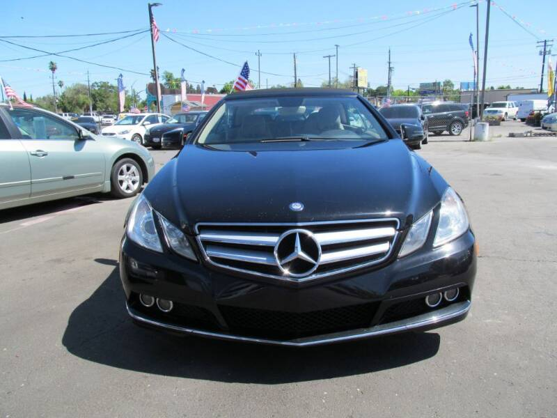 2011 Mercedes-Benz E-Class for sale at Dealer Finance Auto Center LLC in Sacramento CA