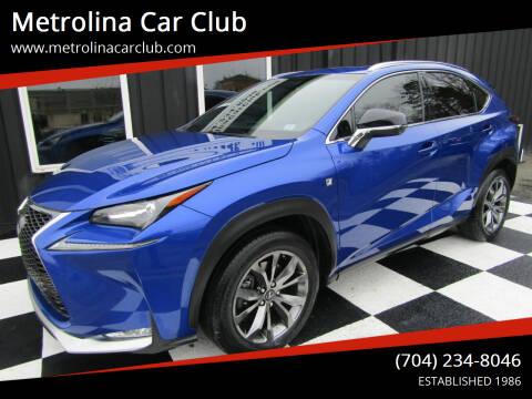 2015 Lexus NX 200t for sale at Metrolina Car Club in Matthews NC