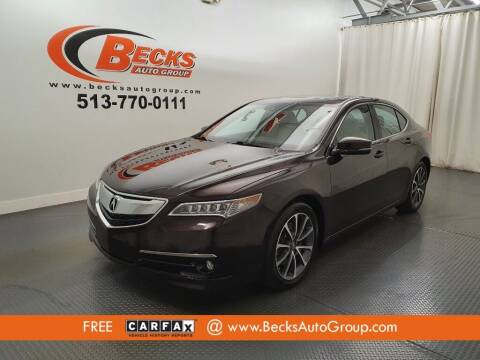 2015 Acura TLX for sale at Becks Auto Group in Mason OH