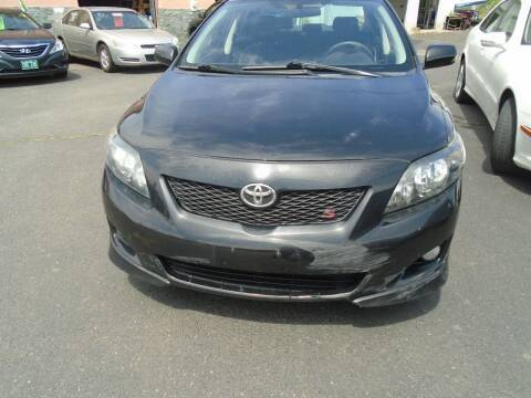 2009 Toyota Corolla for sale at Broadway Auto Services in New Britain CT