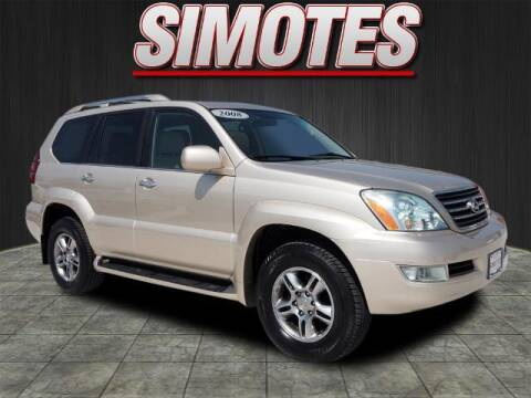 2008 Lexus GX 470 for sale at SIMOTES MOTORS in Minooka IL