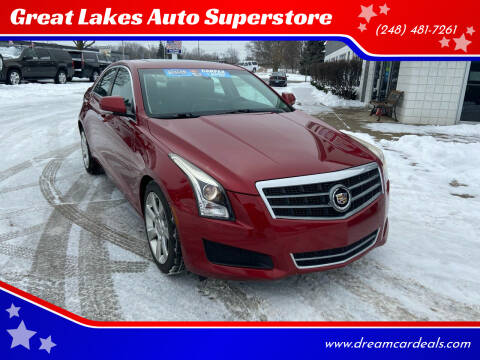 2014 Cadillac ATS for sale at Great Lakes Auto Superstore in Pontiac MI